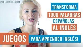 Aprende 2000 palabras en inglés rapidísimo con este truco Learn 2000 words in English Fast!