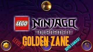 Ninjago Tournament App Gameplay Episode 22: GOLDEN ZANE - INSANE DAMAGE