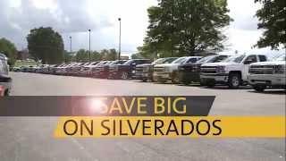 Best Chevrolet Silverado Selection in Kentucky is at Dan Cummins Chevrolet in Paris KY