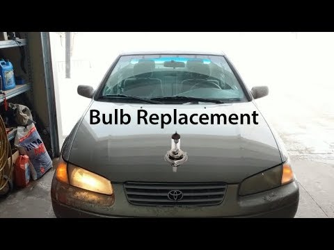 1998 Toyota Camry Headlight Bulb Replacement
