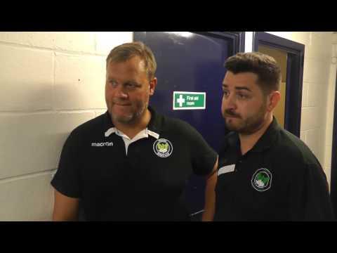 Dulwich Hamlet vs Phoenix Sports 05/09/16 Glen Gibbard & Adam Scott Post Match Reaction