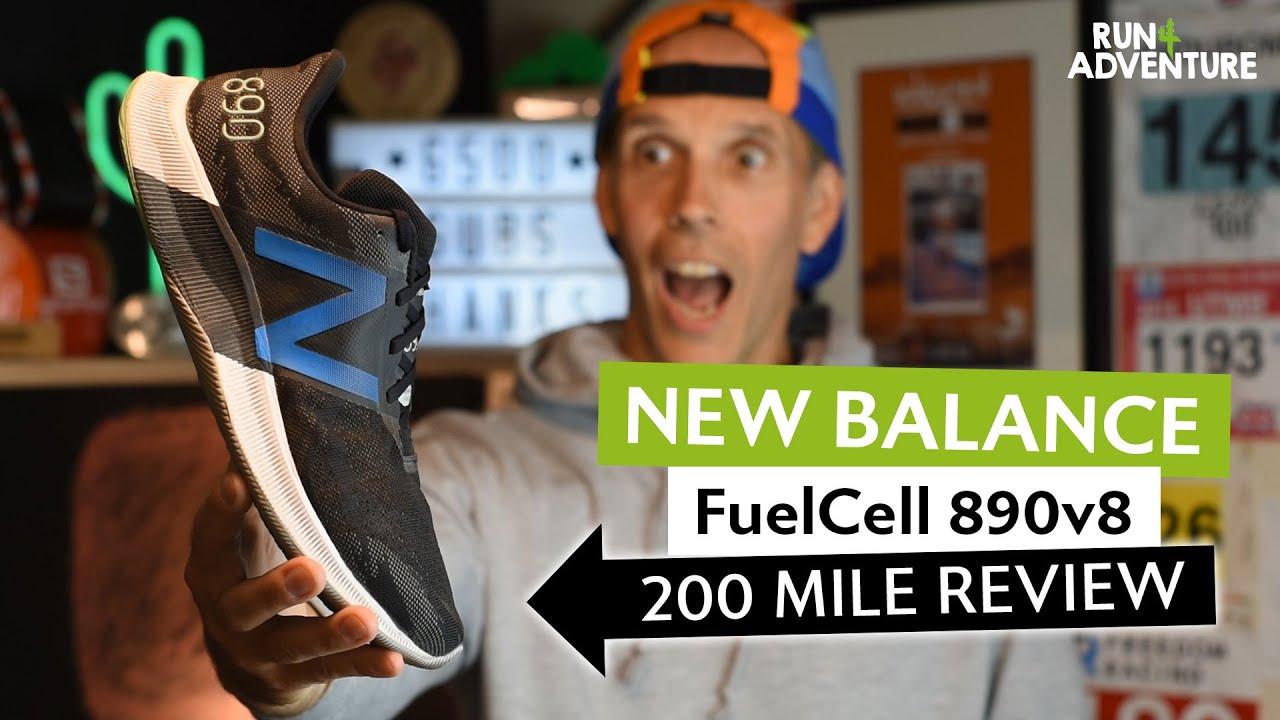 NEW BALANCE FuelCell 890v8 200 mile shoe review | Best Lightweight Running Shoe | Run4Adventure