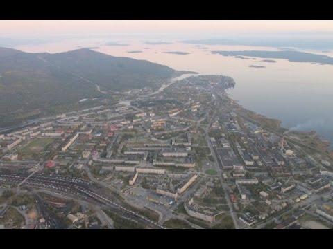 Видео — Кандалакша — жемчужина белого моря