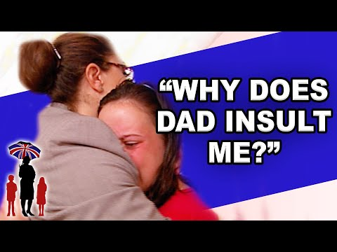 Dad Calls His Daughter a B**ch | Supernanny
