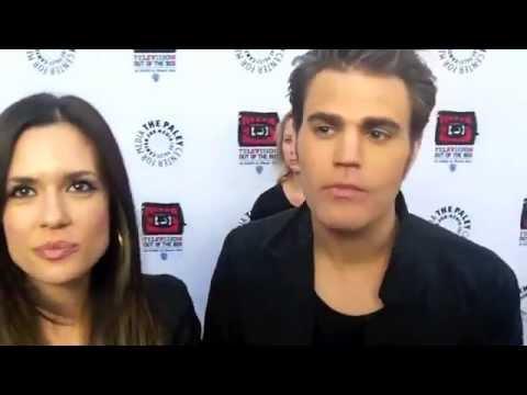 Paul Wesley&Torrey DeVitto interview 2012/4/12