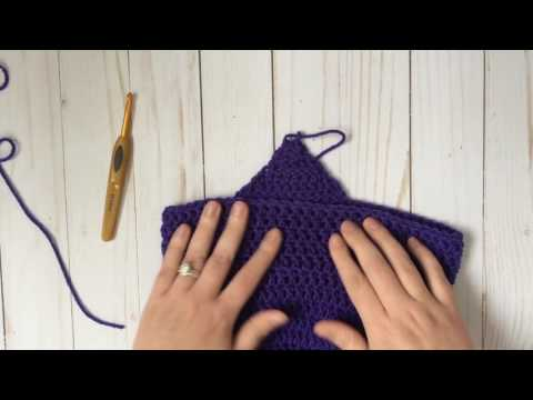How To Add Ear Flaps And Tassels To Crochet Hats