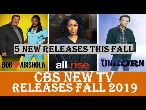 CBS New TV Shows To Be Released Fall 2019