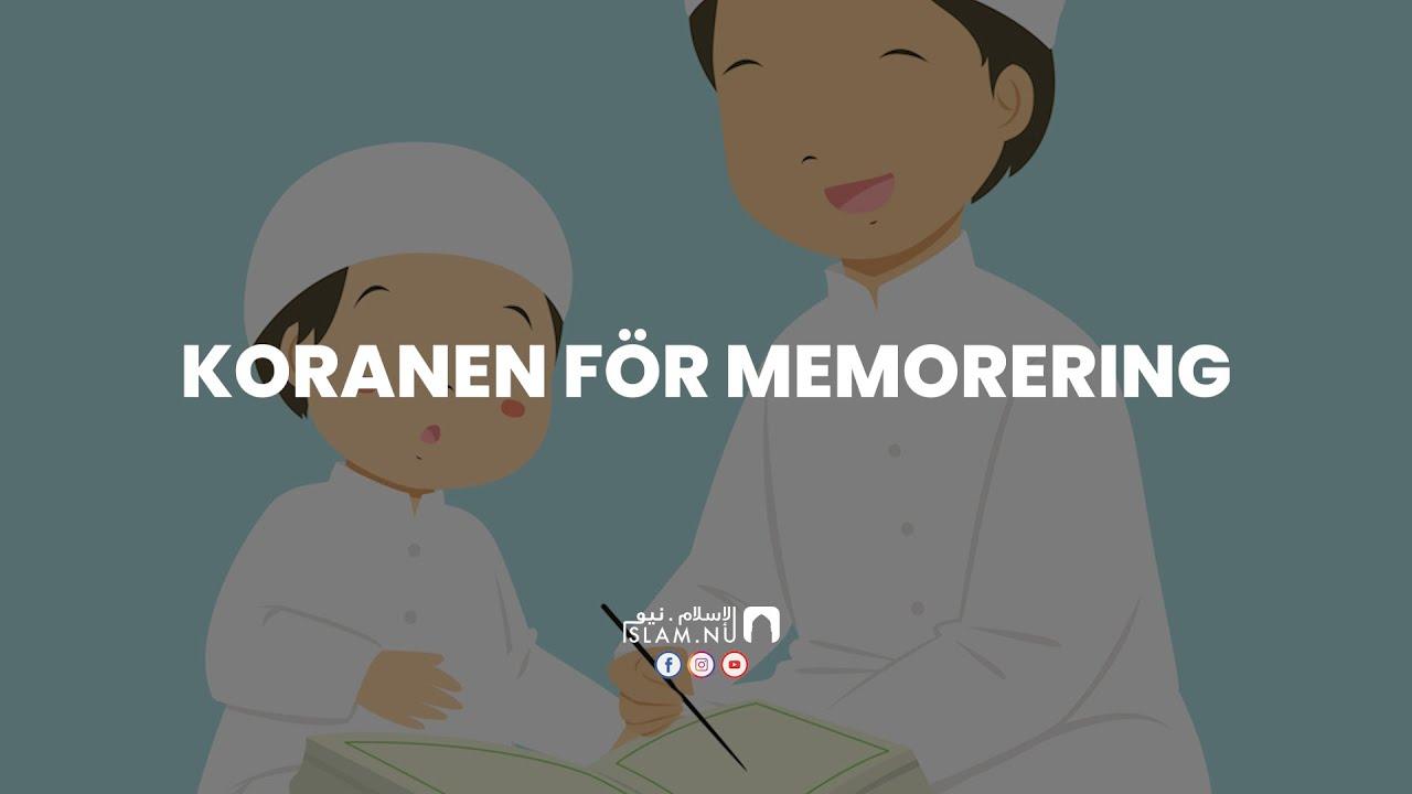 Koranen för memorering - Surah Al-Fatiha [Khalifa Al-Tunaiji]