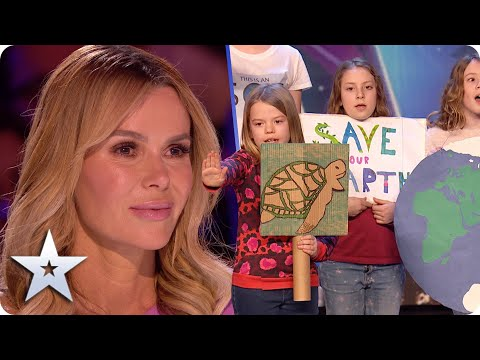 An important SOS From The Kids: SAVE THE PLANET!    BGT 2020