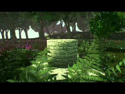 Fantasy Garden Animation Blender + Unreal Engine 4