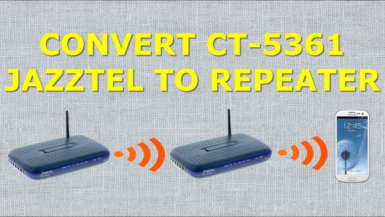 firmware comtrend 5361 telefonica