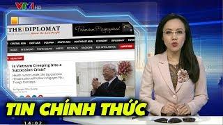 Lần đầu tiên báo chí quốc tế đưa tin về sức khỏe của Nguyễn PHú Trọng
