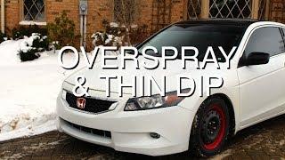 Diy Easiest Way Remove Dip Overspray Thin Dip