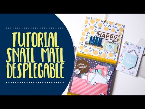 Tutorial Snail Mail Desplegable