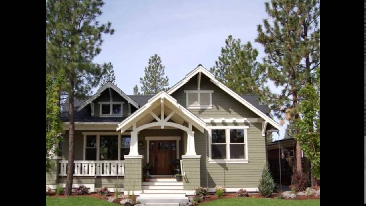 Small Craftsman House Plans | Small Craftsman Style House Plans on