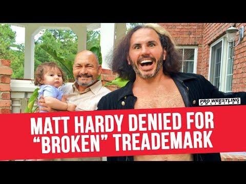 "Matt Hardy Denied For Trademark On ""Broken"" Gimmick"