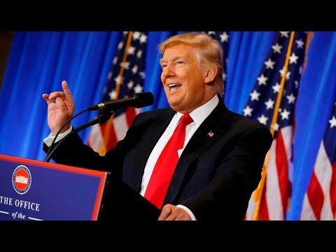 Donald Trump FULL news conference, Jan 11, 2017