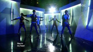 MBLAQ - Stay, 엠블랙 - 스테이, Music Core 20110122