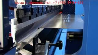 видео Электромеханический задний упор для листогибочных машин
