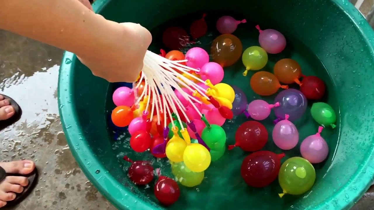 Water Balloon Magic Balon Air Perang Balloons Fill Bunch Of In Minutes Youtube 1920x1080