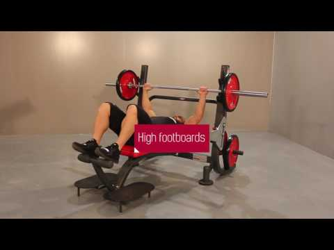 1HP203 - Super olympic flat bench