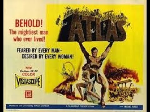 Random Movie Pick - ATLAS trailer, 1961. Michael Forrest. YouTube Trailer