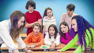 Новая училка устроила разборки с классом Луиза всё испортила Сериал Мария ОМГ