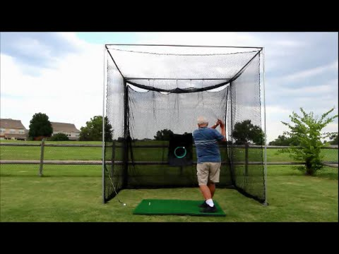 Best Backyard Golf Net golf cagecimarron - practice golf net diy frame kit - youtube