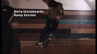 LOWCARD - DIETA SKATEBOARDS Ramp session