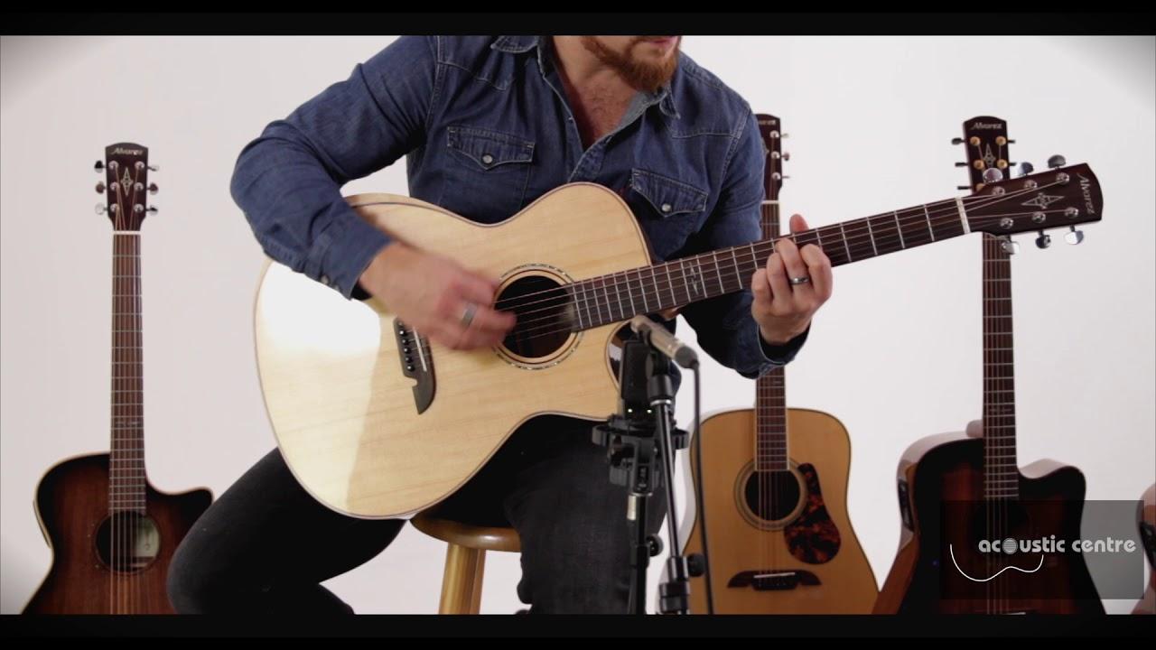 Alvarez Ad70Sc Acoustic Electric Guitar wanderlust (on my new alvarez)fingerpickersmith1
