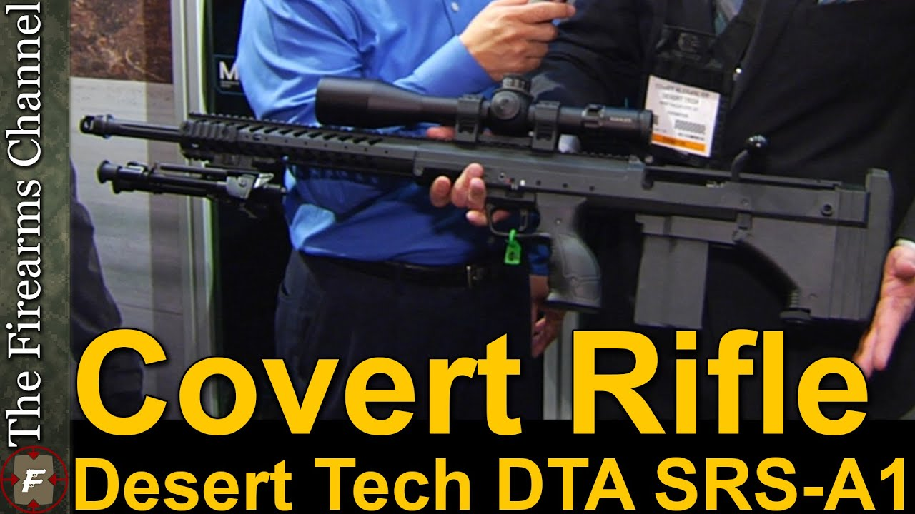 Gun review desert tactical arms stealth recon scout dta srs rifle - Dta Srs A1 Covert Rifle Chassis By Desert Tech At Show Show 2015 Youtube