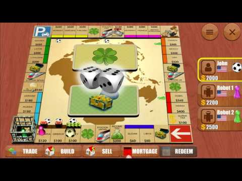 Rento 3D - Monopoly Multiplayer Board Game Gameplay