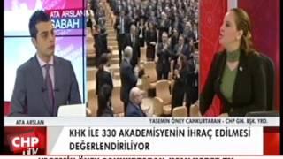 YASEMİN ÖNEY CANKURTARAN HALK HABER TV 09/02/2017