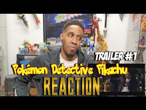 Pokémon Detective Pikachu Trailer Reaction