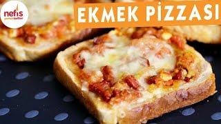 Pratik Ve Leziz Ekmek Pizzaları - Pizza Tarifleri - Nefis Yemek Tarifleri