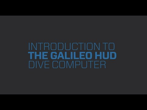 Galileo HUD | Section 1 Introduction to The Galileo HUD Handsfree Dive Computer