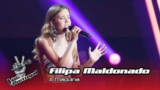 "Baixar Filipa Maldonado - ""A Máquina""    Prova Cega   The Voice Portugal"
