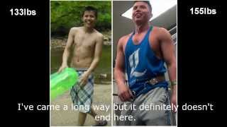 2 year natural bodybuilding transformation - scrawny to brawny