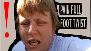 16-07-2014 vlog day 119 pain full foot twist