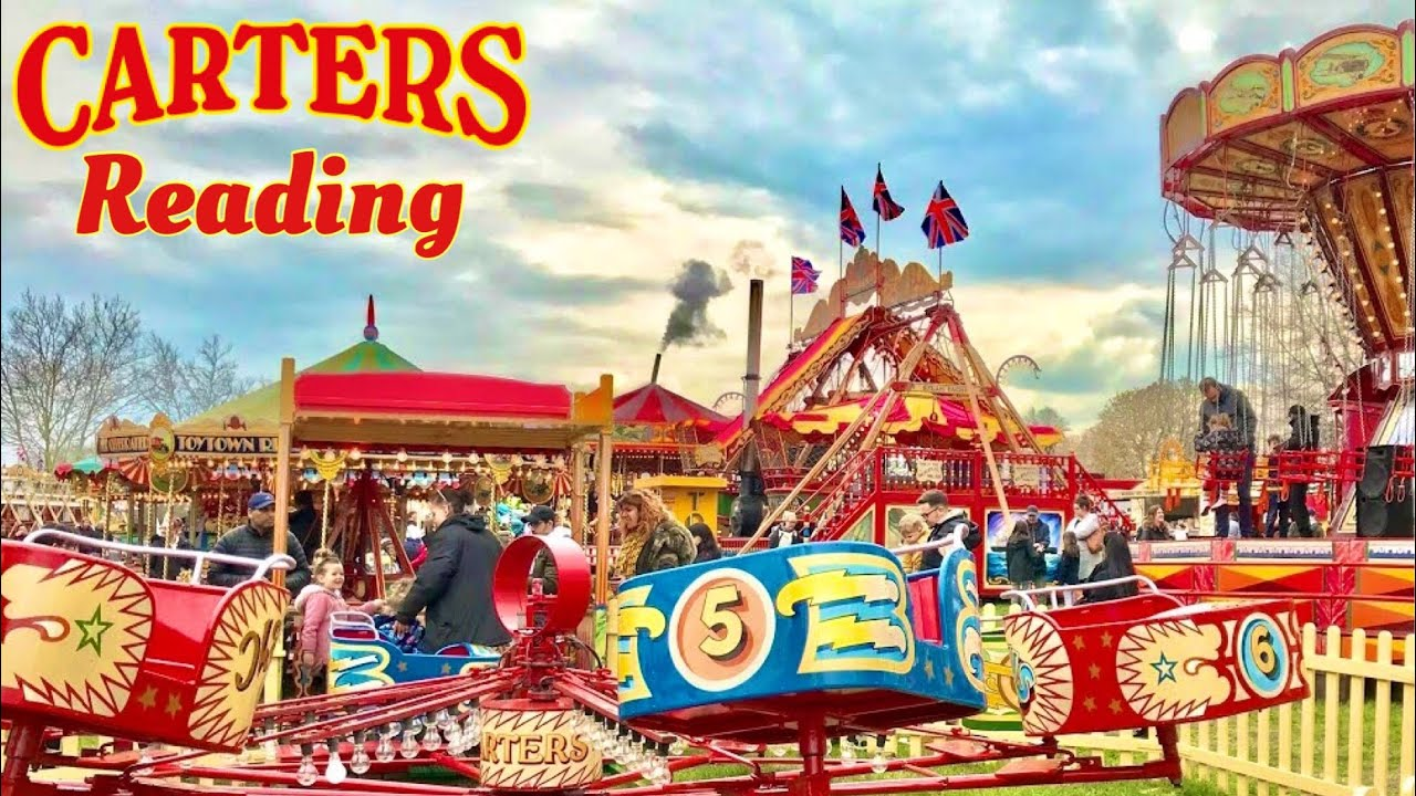 Carters Steam Fair Reading Vlog 14th April 2019 Youtube