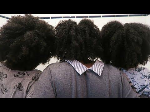 vlog maison notre routine capillaire shampooing demelant pour cheveux afro sakinafamily. Black Bedroom Furniture Sets. Home Design Ideas