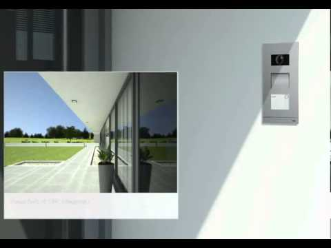 Abb Video Door Entry At Intelligent Home Online Youtube