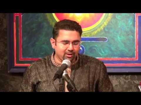Sandeep 'Naadrang' Ranade sings a Dadra in Raga Sindh Bhairavi