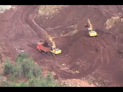 open pit mining .flv