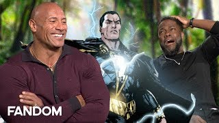 The Rock Pitches New Superhero for Black Adam - Jumanji The Next Level