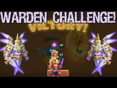 Rosaleen Soulstone! Warden Challenge Play - Castle Clash