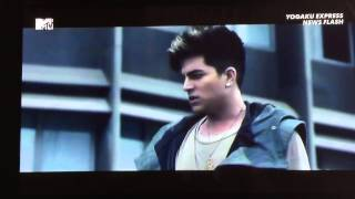 MTV Japan Yougaku Express News Flash Adam Lambert ニューアルバム Th...
