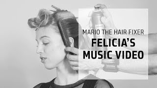 Felicia & her music video - hip Brit style | Mario the Hair Fixer | Goldwell Education Plus
