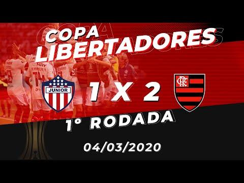 Junior Barranquilla x Flamengo Ao Vivo - Estádio Metropolitano