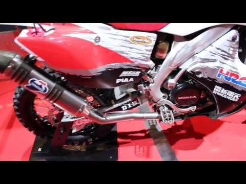 Honda CRF Rally Dakar Bike at IAA Frankfurt